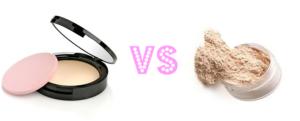 Puder prasowany czy sypki? Który jest lepszy?
